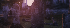 tes-diesel tombstones retexture for Olivion
